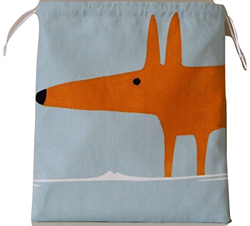 scion-mr-fox-sky-tangerine-fabric-drawstring-waterproof-lined-wash-bag-cosmetic-bag