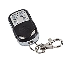 Garage Door Remote Control 433.92MHz Super Copy Remote Control Radio Remote Control Garage Door Opener Metal 4-Channel(Non-universal, with product chip limitations)