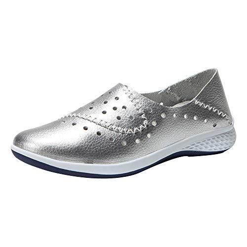 JiaMeng Mode Damen Hohl Flache Atmungsaktive Freizeit Sportschuhe Shake Schuhe ZXTY20.