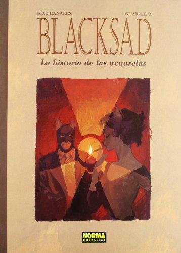 Blacksad, La historia de las acuarelas Cover Image