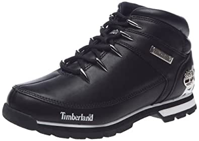 timberland euro sprint chaussures montantes homme noir 44547 41 5 eu 8 m us. Black Bedroom Furniture Sets. Home Design Ideas