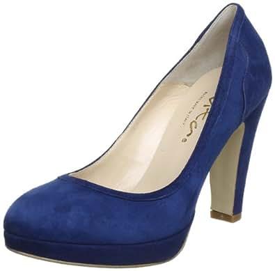 Evita Shoes Pumps geschlossen 09S9023120, Damen Pumps, Blau (blau), EU 38