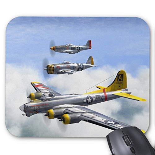 Drempad Gaming Mauspads Custom, B-17 P-47 P-51 Mousepad