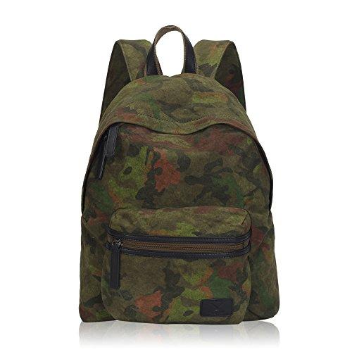 Imagen de veevan  escolar casual en color de camuflaje de lona unisex militar