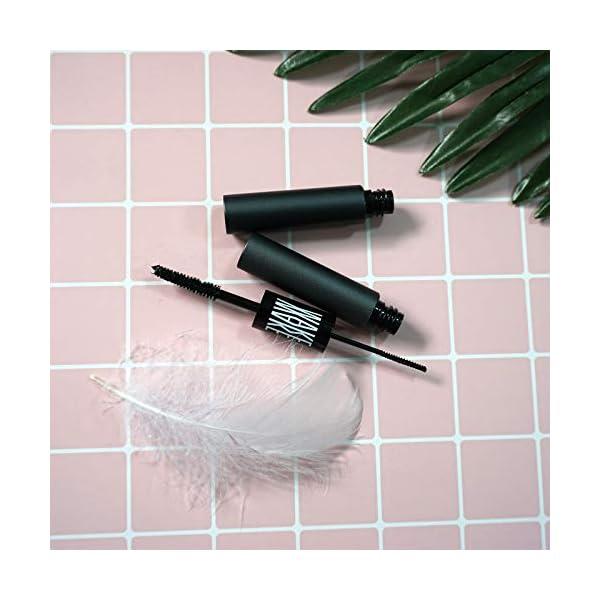 Onlyoily Fibra de la pestaña,pestañas máscara,Natural Lash,Pestañas de fibra impermeables Máscara de pestañas,negro…