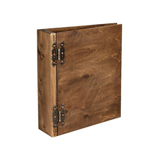 DIN A4 Ordner aus Holz Holzordner Präsentationsordner