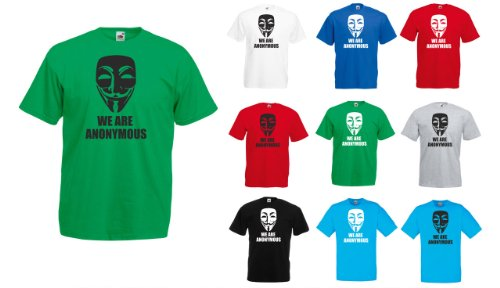 We are Anonymous, Men's Printed T-Shirt