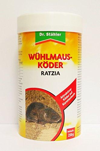 Dr. Stähler à campagnols Leurre ratzia carottes Leurre schermäuse lutte contre 250g