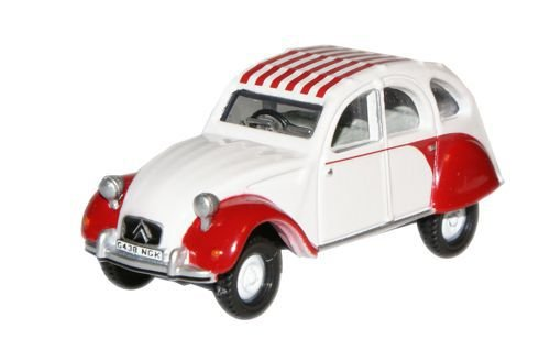 oxford-diecast-76ct003-dolly-red-white-citroen-2cv-by-oxford-diecast