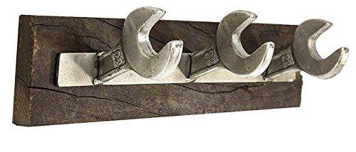 Perchero de Pared Estilo Industrial Vinatge, Medidas 44 X 13 X 12 cm - Modelo LUSO, Francisco SEGARRA