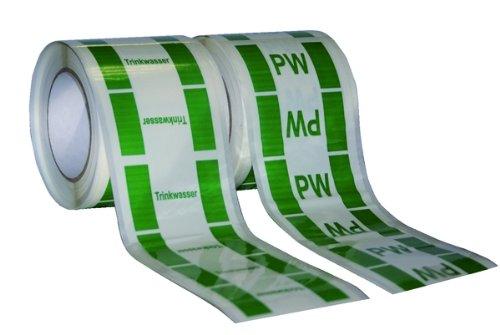 lemaxr-rohrleitungskennzeichen-fur-trinkwasserleitungen-rolle-33-m-aufdruck-pwc-90mm