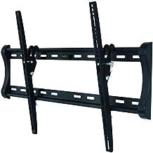 """Soporte de pared para TV/monitor en negro inclinable 12° para LG 32"""" 32LD320"""