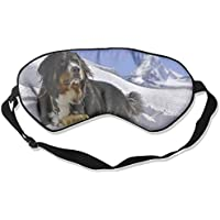 Cute Bernard Dog With Snow Sleep Eyes Masks - Comfortable Sleeping Mask Eye Cover For Travelling Night Noon Nap... preisvergleich bei billige-tabletten.eu