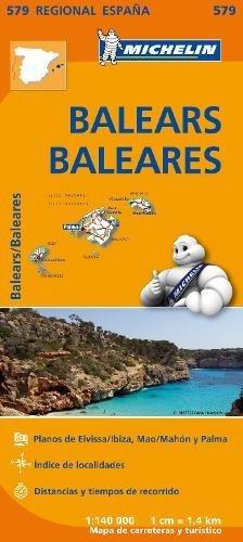 Baleares - Michelin Regional Map 579 par Michelin