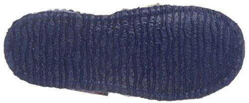Giesswein Jungen Kossa Hohe Hausschuhe Blau (527 Jeans)