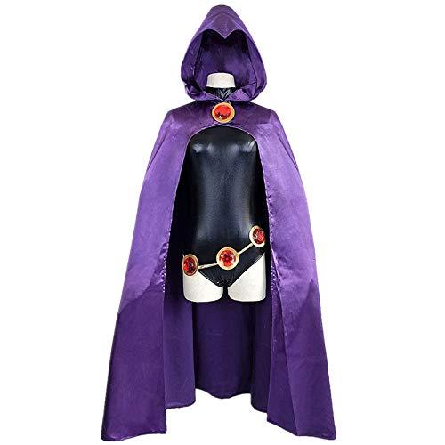 Teen Titans Maske - WSJDE Teen Titans Raven Cosplay Kostüm