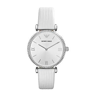 Emporio Armani Reloj Analógico para Mujer de Cuarzo con Correa en Acero Inoxidable AR1680