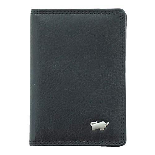 BRAUN BÜFFEL Kartenetui Golf 2.0 - aus echtem Leder (schwarz)