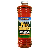 A USA Made Product PowerHouse® Pine Cleaner Cleans & Deodorizies, All Purpose Cleaner, 828mL (4)