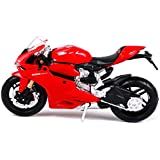 Maisto Ducati 1199 Panigale Diecast Motorcycle, 1:18 Scale
