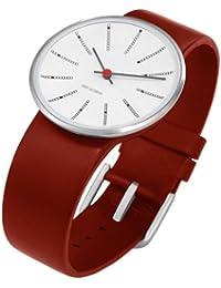 Rosendahl Unisex-Armbanduhr Analog Edelstahl weiss 43476