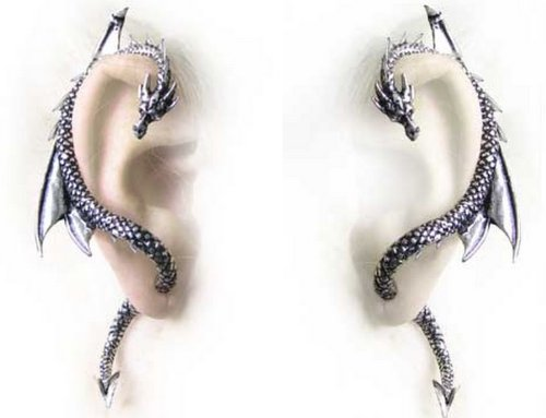 pair-of-alchemy-gothic-pewter-the-dragons-lure-wrap-cuff-earrings