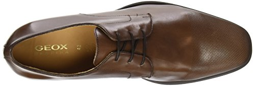 Geox U Pericle F, Chaussures lacées homme Marron (C6006)