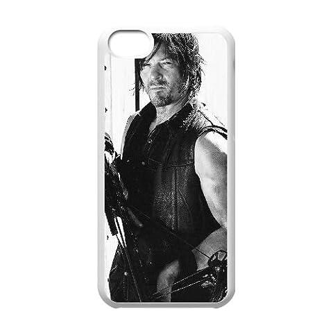 Daryl Walking Dead Staffel O5T35J4TC iPod Touch 6 Fall hülle weiß 824R00 (Staffel 4 Walking Dead)
