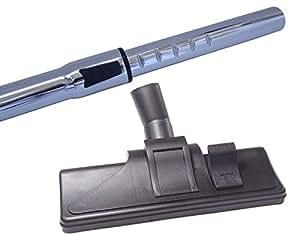 Chromé 35 mm tube télescopique pour aspirateur miele s 311i en kit avec brosse & 5 bâtonnets parfumés