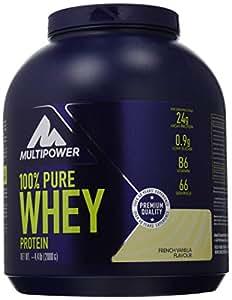 100% pure whey multipower 2kg vaniglia