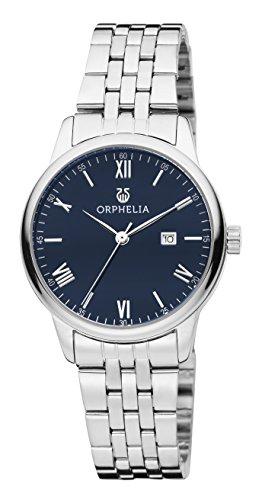 Orphelia Damen-Armbanduhr The Minimalist Analog Quarz Edelstahl (Reden Sie Datum Und Zeit, Uhr)