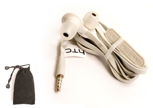 RC E190 Original OEM HTC Premium 3.5mm White Stereo Headphones Headset Earphones Ear bud  available at amazon for Rs.5299