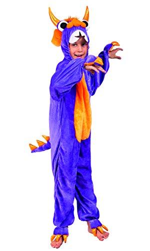 Boland Kostüm Overall Plüsch max 1,40 m Viola/Arancione Preisvergleich