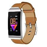 BURFLY Mode Intelligentes Armband, S7 Smart Color Screen Blutdruck Übung Herzfrequenz Schrittzähler Smart Watch (Silber)