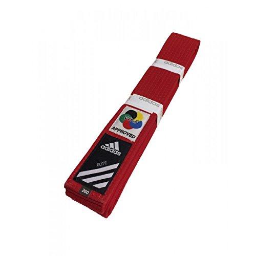 Adidas Elite Karate Gürtel WKF Rot Kampfsport