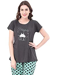 ae59e40f77a SWEETNIGHT Women s Sleep   Lounge Wear Online  Buy SWEETNIGHT Women s Sleep    Lounge Wear at Best Prices in India - Amazon.in