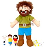 Fiesta Crafts Jack and the Beanstalk Hand and Finger Puppet Set