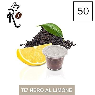50 Capsules Nespresso compatibles - Thé Noir au citron - MyRistretto - FRHOME