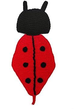 Kinder Baby Strick Mütze Fotoshooting Neugeborene Käfer Muster Design Hut Kostüm Hüte