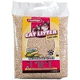 FLAMINGO Katzenstreu PET PLUS Maiskolben CORN COBS 4 kg Maisstreu