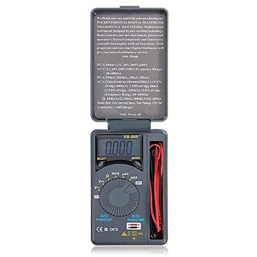 DDGE DMMS Digitales Multimeter/Voltmeter/Tester mit LCD-Mikro-Automatik AC/DC Dmm-digital-multimeter