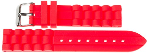 20-mm-kaiser-watches-silicone-watch-wrist-band-silicone-watch-band-red-20-mm-buckle-white