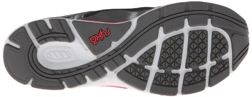 RYKA Women's Prodigy 2 Stretch Running Shoe,Black/Steel Grey/Coral Rose/Chrome Silver,5 M US Blkd/Gry/Cr