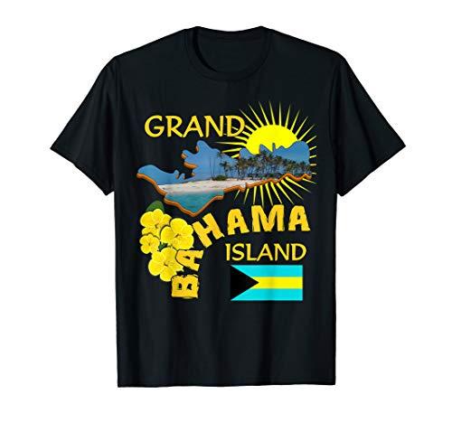 Grand Bahamas Sunshine Summer Graphic T-Shirt - Summer Graphic T-shirt