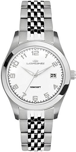 Lorenz Reloj Analógico para Mujer de Cuarzo con Correa en Acero Inoxidable 027010AA
