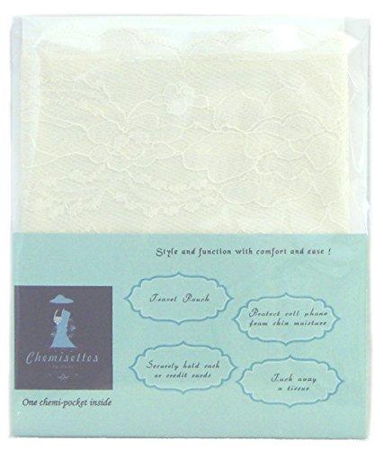 Modesty Panel Weiches Poly Breit Lace überlagerung Chemisetten von Anne 5 Größen Elfenbein