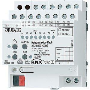Jung KNX Schaltaktor Klimatisierung 6Ausgang Version Komfort