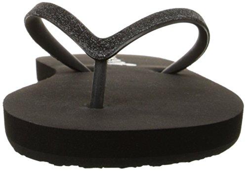 Reef Stargazer, Tongs femme Noir (Black/Black)