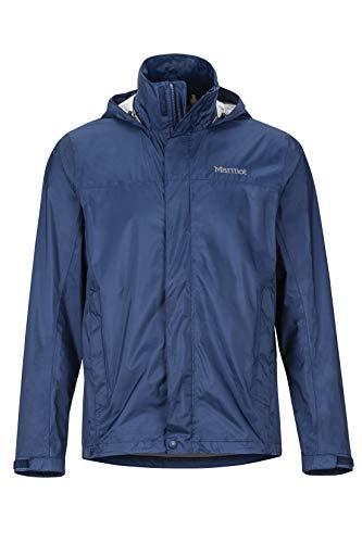 Marmot Herren PreCip Eco Jacket Hardshell Regenjacke, Blau (Arctic Navy), S -