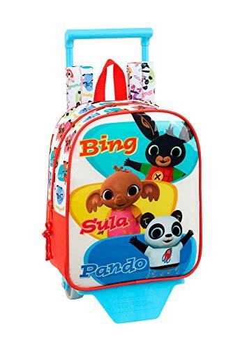 Bing - Zaino per asilo con trolley Safta, 220 x 100 x 270 mm